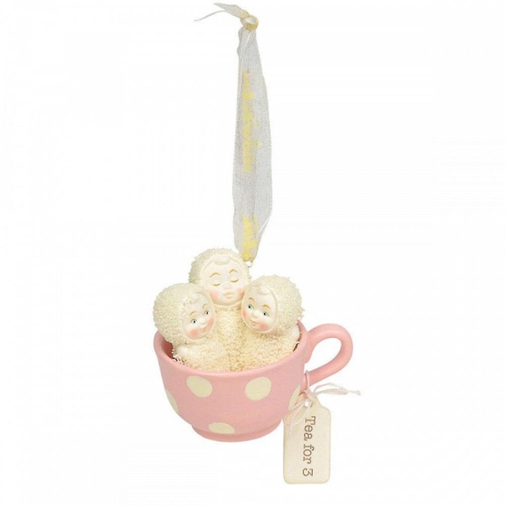 Snowbabies Tea For Three Hanging Ornament