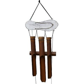Sandale blanche Bamboo Wind Chime