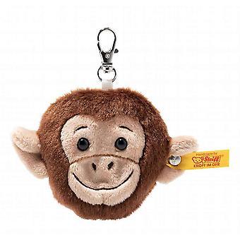 シュタイフ チンパンジー猿キーホルダー 7 cm