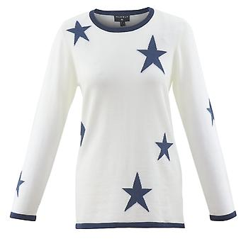 MARBLE Marble Blue Sweater 5678