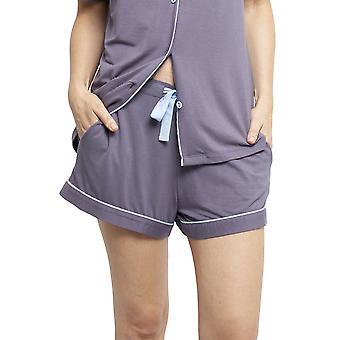 Cyberjammies 4407 Women's Olivia Grey Modal Knit Pyjama Short