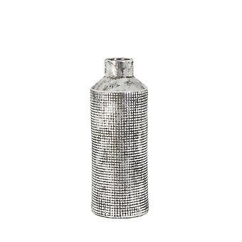 Light & Living Vase Deco 15.5x41cm Terrero Silver