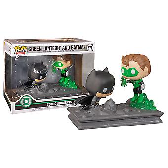 Green Lantern & Batman Jim Lee US Comic Moment Pop
