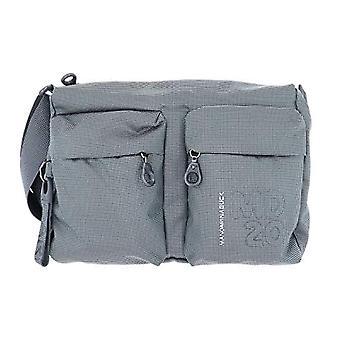 Mandarin Duck Md20 Lux Grey Women's Bag Strap (Gun Metal) 8.5x20x29 cm (W x H x L)