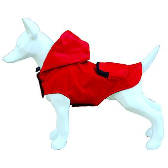 Freedog Waterproof Red Pocket (Dogs , Dog Clothes , Raincoats)
