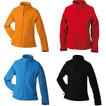 James en Nicholson Womens/dames gekleefde Fleece jas