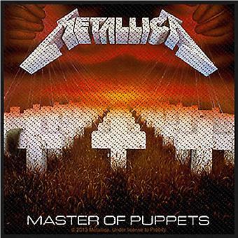 Metallica Patch Master av The dukkene offisielle nye Black vevd (10 cm x 10 cm)
