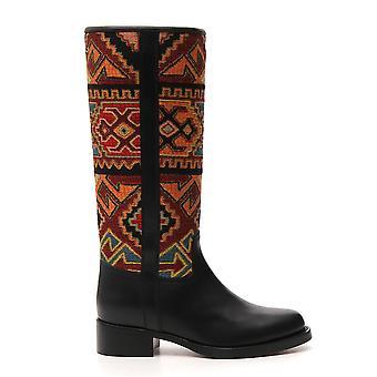 Etro 1344735060001 Damen's Multicolor Stoff Stiefel
