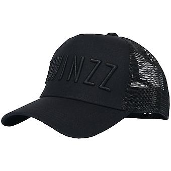 Twinzz 3D Mesh Trucker Snapback Baseball Cap Schwarz 44