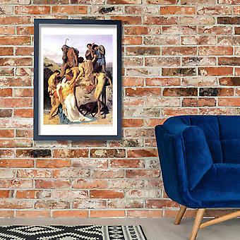William Bouguereau - Zenobia Poster Print Giclee