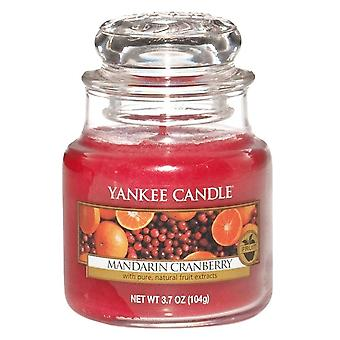 Yankee Candle Small Jar Candle Mandarin Cranberry