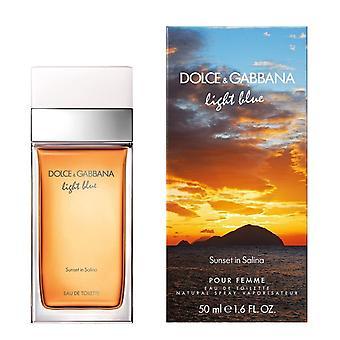 Dolce & Gabbana Lichtblauwe zonsondergang in Salina Pour Femme Eau de Toilette Spray 50ml