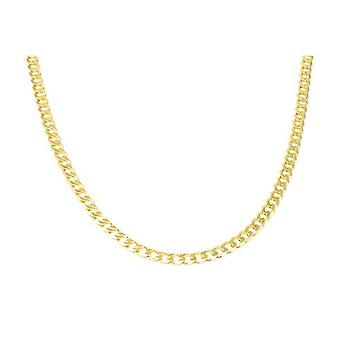 Toc 18 Inch Goldtone on Sterling Silver Gents 28.6 Gram Curb Necklace