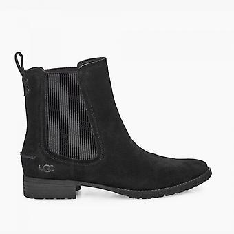 UGG Hillhurst Ii Ladies Suede Ankle Boots Black
