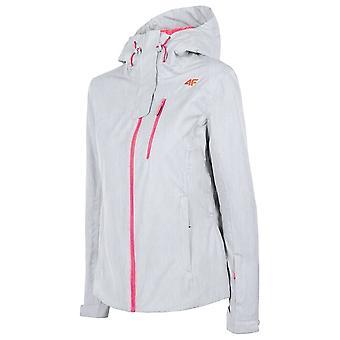 4F KUDN060 H4Z19KUDN060CHODNYJASNYSZARYMELAN universal winter women jackets