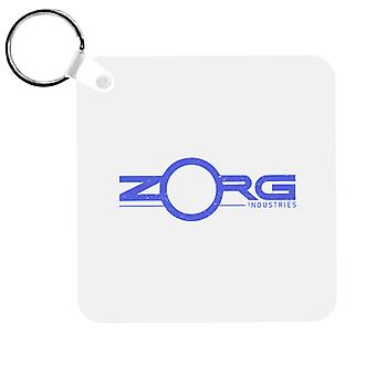 The Fifth Element Zorg Industries Logo Keyring