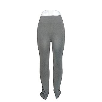 Legacy Leggings Seamless Heathered Ruched Ankle Gray A265954