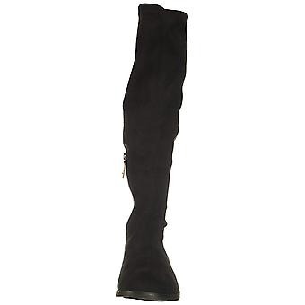Gentle Souls Womens Emma Fabric Closed Toe Knee High Cold Weather Boots