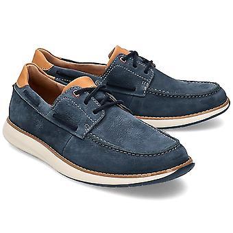 Clarks UN Pilot Lace 26142939 uniwersalne przez cały rok męskie buty