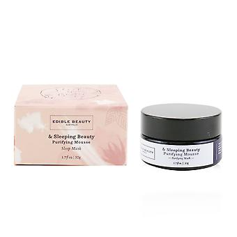 & sleeping beauty purifying mousse mask 50g/1.7oz