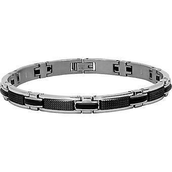 Ratchet B031981 - svart man silver armband armband