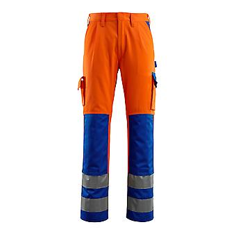 Mascot olinda hi-vis work trousers 07179-860 - safe compete, mens -  (colours 2 of 2)