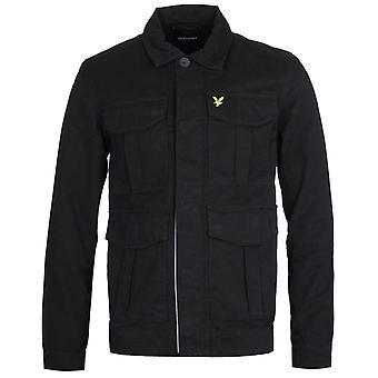 Lyle & Scott Jet Black Utility Jacket