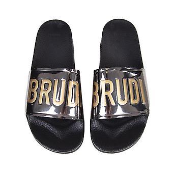 Chabos Unisex bath sandals Brudilettes chrome