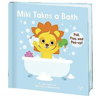 Miki Takes a Bath by Stephanie Babin - 9782408015978 Book
