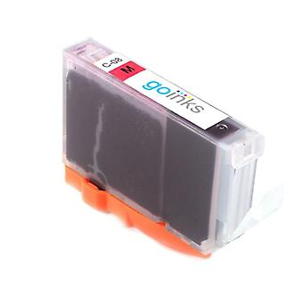 1 Magenta-mustekasetti Canon CLI-8M -yhteensopivan/ei-OEM-laitevalmistajan korvaamiseksi Go Inksistä