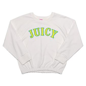 Girl's Juicy Couture Infant Applique Sweat in White