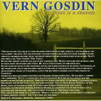 Vern Gosdin - There Is a Season [CD] USA import