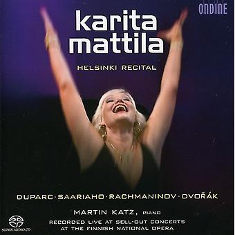 Karita Mattila - Helsinki Recital [SACD] USA import