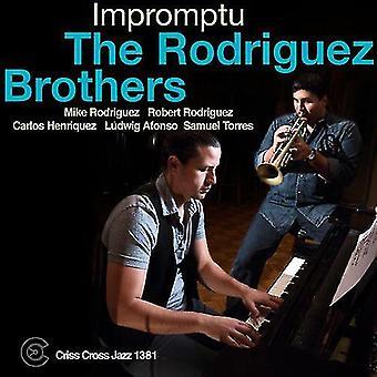 Rodriguez Brothers - Impromptu [CD] USA import