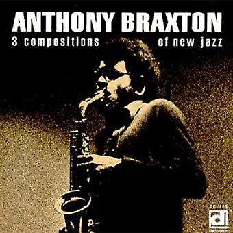 Anthony Braxton - 3 importation USA de Compositions de New Jazz [CD]