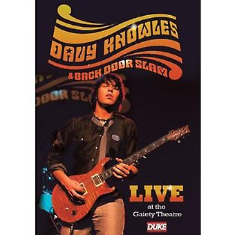 Davy Knowles & Back Door Slamlive at Gaiety Theatr [DVD] USA import