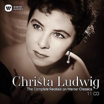 Ludwig*Christa - Ludwig*Christa: Complete Recitals on Warner Classics [CD] USA import