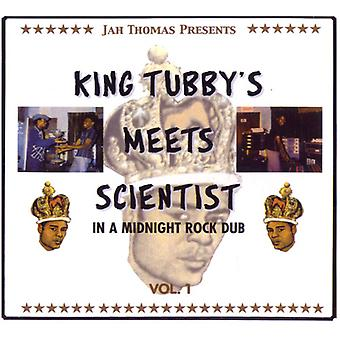 Thomas, Jah Presents King Tubby's Meets Scientist - In a Midnight Rock Dub 1 [CD] USA import