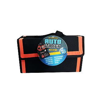 18 piece auto emergency kit