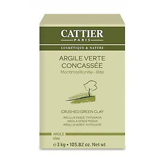 Cattier Granulated Green Clay 3 Kg