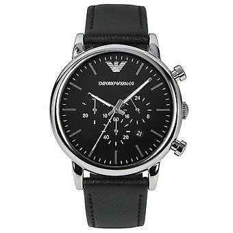 Emporio Armani AR1828 Classic Chronograph Black Dial Men's Watch