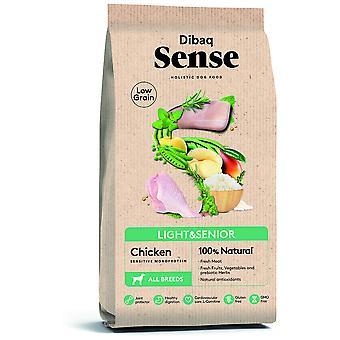 Dibaq Sense Low Grain Light & Senior Chicken (Dogs, Food, Thinking)