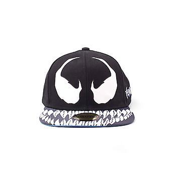 Venom Baseball Cap Venom Mask new Official Black Spiderman Snapback
