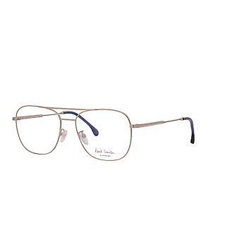 Paul Smith AVERY PSOP007V2 03 Matte Silver - Deep Navy Glasses