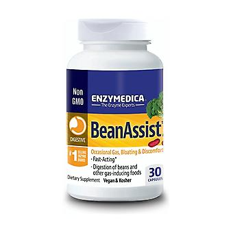 BeanAssist 30 vegetable capsules