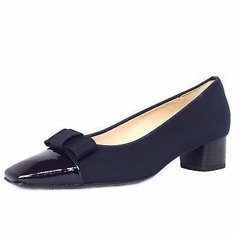 Peter Kaiser Beli Low Heel Court Shoes In Navy