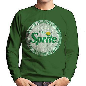 Njut av Sprite retro 90s Bottlecap mäns tröja