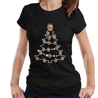 Thunderbirds Weihnachtsbaum Gehirne Frauen's T-Shirt