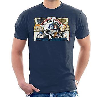 Hammer Horror Films Vampire Circus Scène Montage Men-apos;s T-Shirt