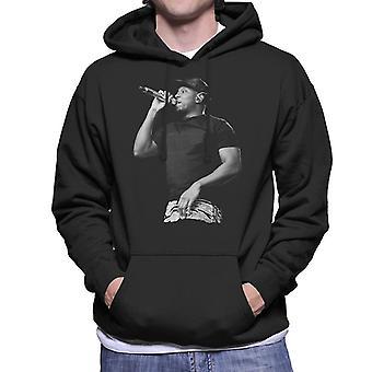 Dizzee Rascal svart-hvitt Fusion Festival 2014 hettegenser Sweatshirt